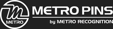 Metro Pins by Metro Recognition