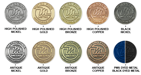 Custom Coins | Coin Options by Metro Pins